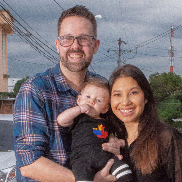 Jacob, Leidy and Oliver Paul